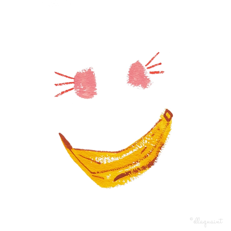Banana Smile 2020 by ellaquaint